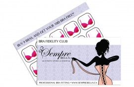 Gift Card - Graphic Design - Sempre Bella Featured