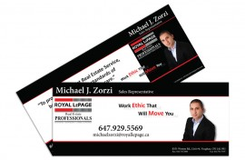 Mailer - Graphic Design - Michael Zorzi Featured