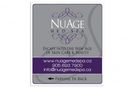 Sign - Graphic Design - NuAge Med Spa Featured